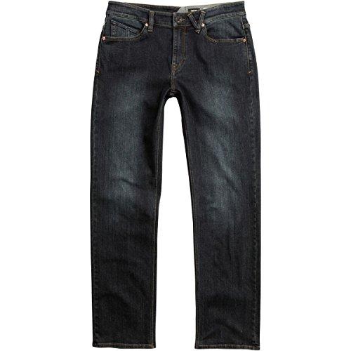Volcom Men's Solver Stretch Denim Jean, Power Grey, 36X32