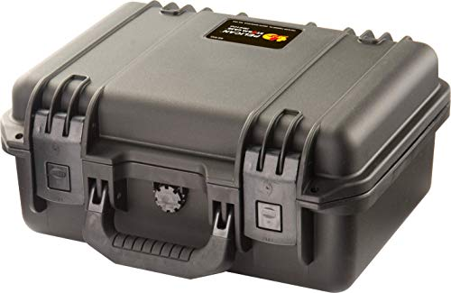 Waterproof Case (Dry Box) | Pelican Storm M2100 Case With Foam (Black) (Small Case Storm)