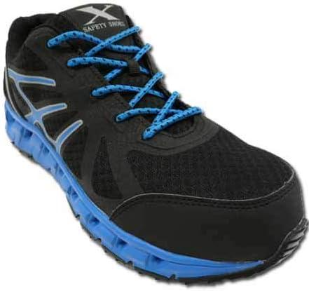 安全靴 安全スニーカー 85142 メッシュ 鋼鉄先芯 幅広ゆったり 3E