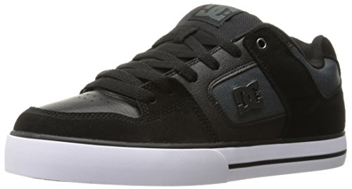 dc-mens-pure-se-skateboarding-shoe-black-dark-grey-6-d-us