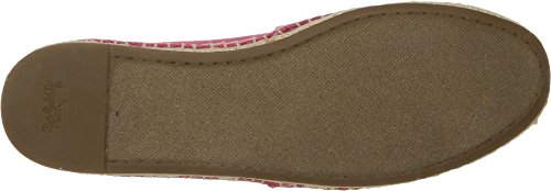 Coach Womens Rhoda Canvas Espadrille Bright Pink 2Bus3Ca4