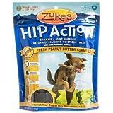 Zuke's Hip Action Natural Dog Treats, Peanut Butter, 1lb by Zuke's