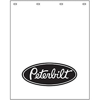 "White 24/"" x 30/"" One Poly Mud Flap 3//16/"""