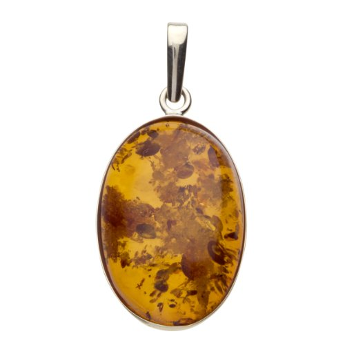 In Collections - 1000103467L100 - Pendentif Femme - Or jaune 333/1000 (8 cts) - ambre