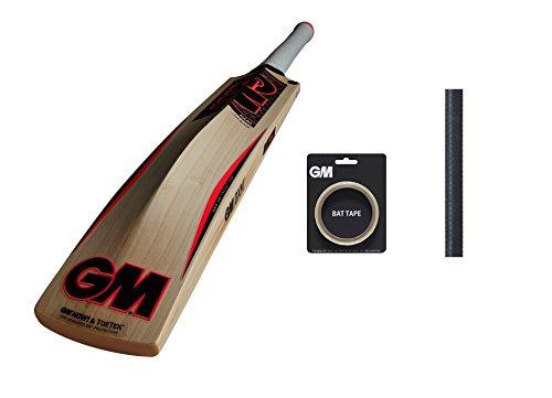 GM MANA 606 English Willow Cricket Bat (Free Extra GM bat Grip , GM Bat Tape) 2017 Edition by Gunn & Moore