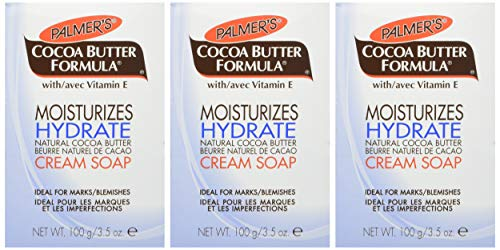 Palmer's Cocoa Butter Formula Daily Skin Therapy Soap 3.5 oz (Pack of 3)