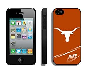 Custom Apple Iphone 4 4s Case Amazing Design Phone Protective Cover Texas Longhorns 3