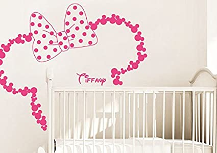 Wall Decal Vinyl Sticker Decals Art Decor Design Disney Custom Baby Name Head Mice Ears Mickey  sc 1 st  Amazon.com & Amazon.com: Wall Decal Vinyl Sticker Decals Art Decor Design Disney ...
