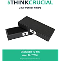 2 Replacements for Alen Air TF30 Air Purifier Filters Fit T100 & T300 Air Purifiers, by Think Crucial