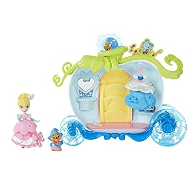 Disney Princess Little Kingdom Cinderella's Bibbidi Bobbidi Carriage: Toys & Games