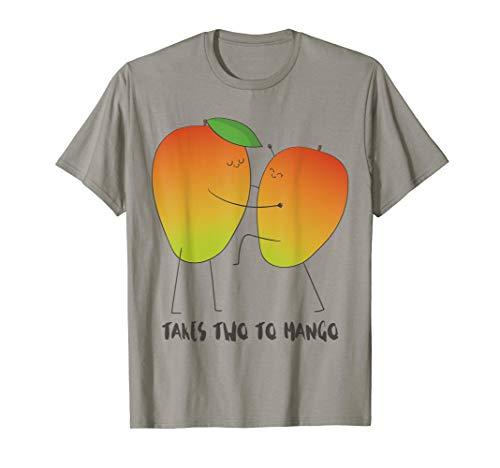 It Takes Two To Mango - Funny Mango Fruit Tango T-Shirt