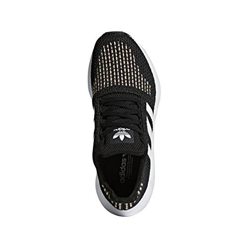 Adidas Originaler Kvinners Swift Run W Kjerne Svart / Hvit / Kjerne Svart  ...