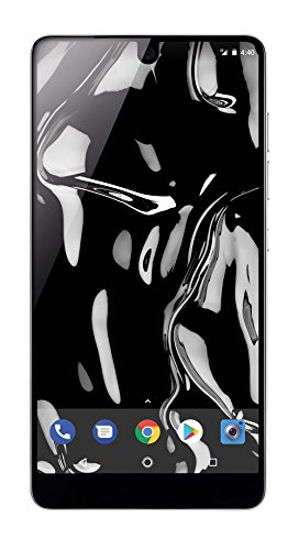 Essential Phone 128 GB Unlocked with Full Display, Dual Camera – Pure White