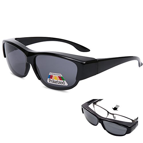 bf2581346b EYEGUARD Fit Over Polarized Lens Cover Sunglasses - Wear Over Prescription  Glasses