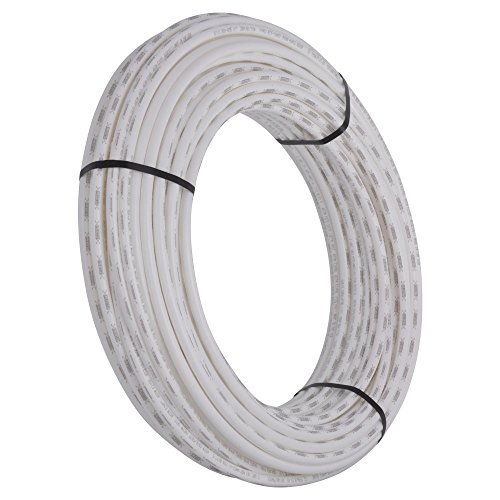 White Tubing Pex (SharkBite PEX Pipe Tubing 1/2 Inch, White, Flexible Water Tube, Potable Water, U860W300, 300 Foot Coil)