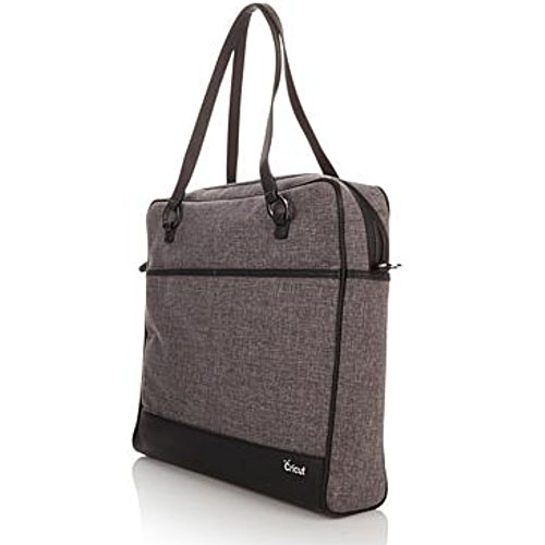 The Cricut Shoulder Bag, Tweed - Premium Crafting Bag For Cricut Craft Supplies by Provo Craft