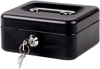 Caja para dinero, de Shine, caja de seguridad de metal con bandeja ...