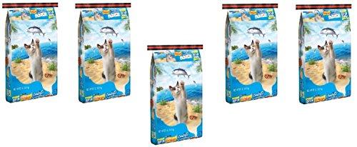 Purina Friskies Seafood Sensations Dry Cat Food (22 lb. Bag Pack of 5) by Purina Friskies