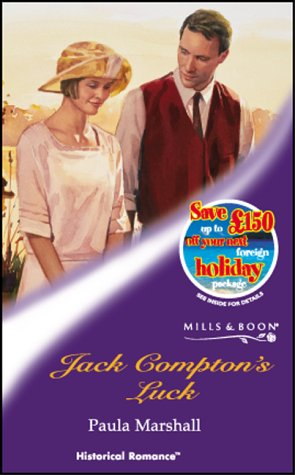 Jack Compton's Luck (Mills & Boon Historical)