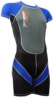 38ce8cc832 Nalu Wavewear Childrens Boys BLUE Shortie Wetsuit 34