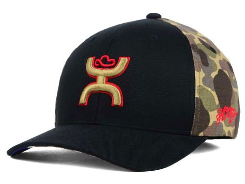 purchase cheap 36491 7e1bd Hooey 2015 Chris Kyle Memorial Black Camo Flexfit Structured ...