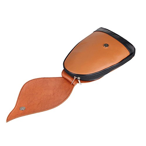 22x36x10 Beautiful Couture Marron à ca femme chocolat cm porté schwarz au Sac OBC Cognac dos main pour Only BxHxT q5w14gWf6E