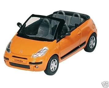 Orange Voiture MiniatureAmazon C3 Citroen 32 Pluriel 1 Cabriolet 435RcAjLq