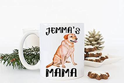 Amazon Com Custom Dog Mug Pet Gift Dog Mug Labrador Mama Golden