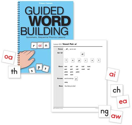 Primary Concepts AA3902 Guided Word Building Book