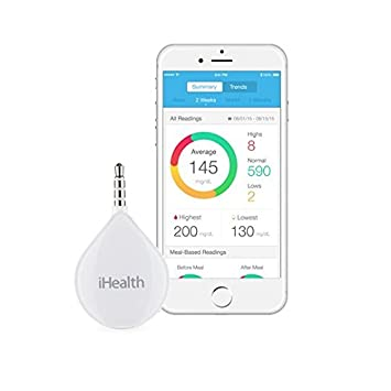ihealth align portable glucometer for apple and android