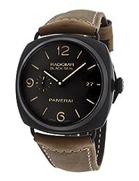 Panerai Radiomir Composite Black Seal 3 Days Automatic Mens Watch PAM00505