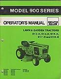 7/1985 ALLIS-CHALMERS MODEL 900 SERIES TRACTOR P/N1677438 OPERATOR MANUAL (405)
