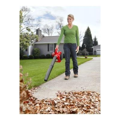 Gas Leaf Blower 2-Cycle Handheld with Variable Speed Throttle, Vibration-Resistant Design and 26-CC Engine, Perfect for Clearing Leaves and Other Debris