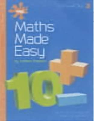 Maths Made Easy: Worksheets Bk. 3: A Simple and Structured ...