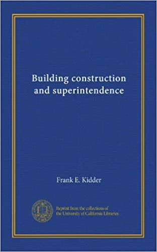 Building construction and superintendence (v.3)