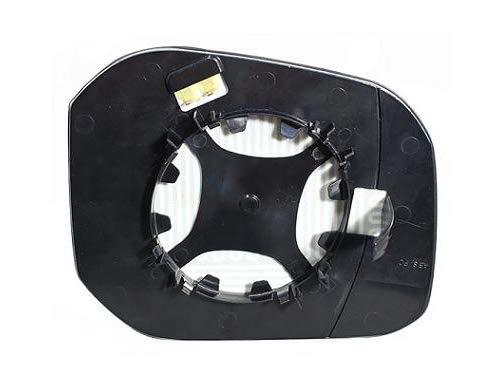 SpareParts VW89475S Spiegelglas Links F/ür Elektrischen Spiegel