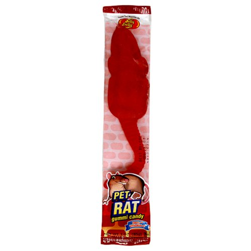 Jelly Belly Gummi Pet Rat, 3-Ounce Packages (Pack of 12)