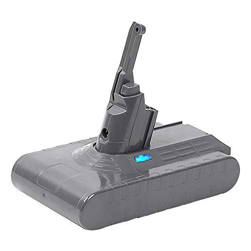 【Upgrade】 TenHutt 21.6V 4500mAh Li-ion Replacement Battery for Dyson V8 Absolute Animal Fluffy Cord-Free Vacuum Handheld Cleaner from TenHutt
