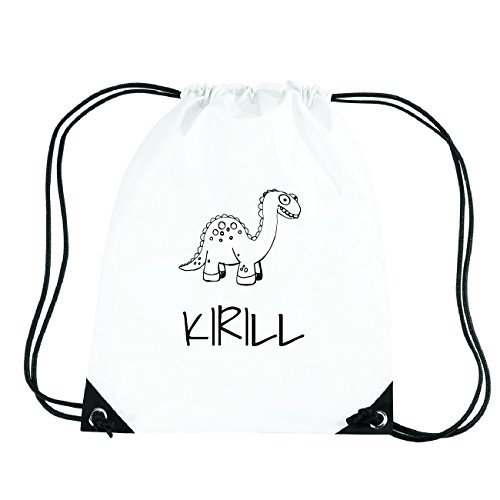 JOllipets KIRILL Turnbeutel Sport Tasche PGYM5571 Design: Dinosaurier Dino IXopLcFDLl