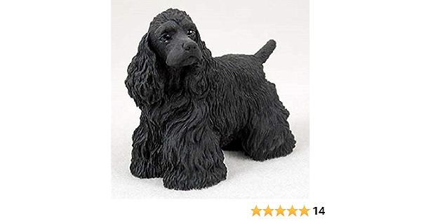 Tiny Ones Cocker Spaniel Dog Figurine Black
