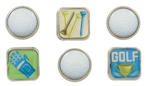 Karen Foster Design, Scrapbooking and Craft Embellishment, Bubble Brads, Golf ()