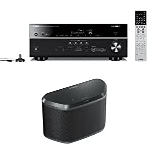 Yamaha rx v679bl 7 2 channel musiccast av for Yamaha 7 2 receiver reviews