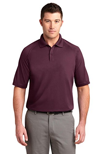 Port Authority Dry Zone; Ottomane Sport Shirt K525 Gr. 5XL, Rot - Maroon