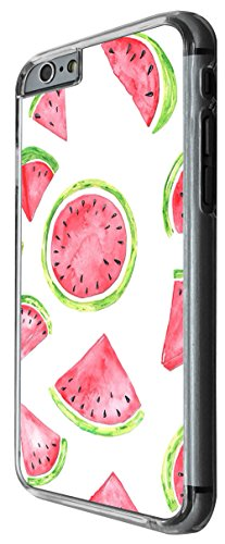 1050 - Cool fun cute watermelon love food fruit summer doodle kawaii art trend blogger pink red green Design For iphone 6 Plus / iphone 6 Plus S 5.5'' Fashion Trend CASE Back COVER Plastic&Thin Metal