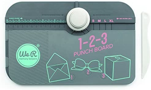 American Crafts We R Memory Keepers 123 Punch Board by American Crafts: Amazon.es: Hogar