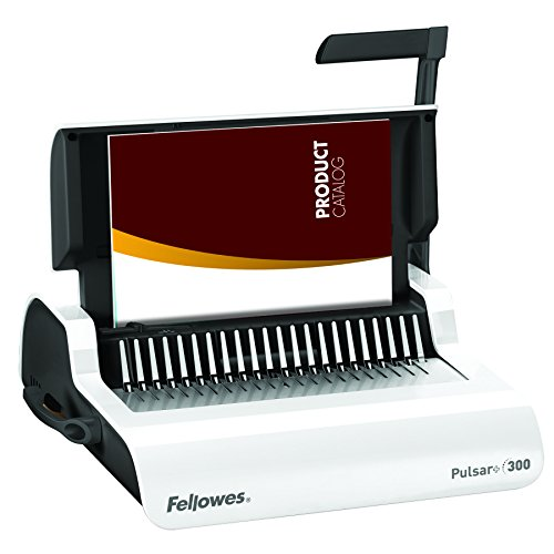 Wire Closer Binding Machine - Fellowes 5006801-99 Binding Machine Pulsar+ Comb Binding (5006801)