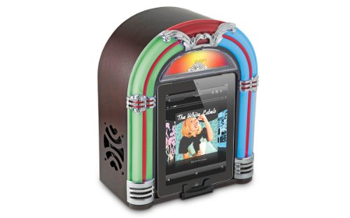 Ipod Jukebox - ION Jukebox Bluetooth Retro Wireless Speaker with Integrated USB Charger