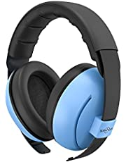 Baby Ear Protection TOENNESEN Noise Cancelling Headphones for 3 Months to 3 Years, NRR 34dB Noise Reduction Ear Muffs. The Most Comfortable Ear Protection for Toddlers/Babies. (Blue)