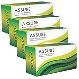 VESTIGE Assure Neem Tulsi & Pudina Soaps - Set of 4 (100 gms each)