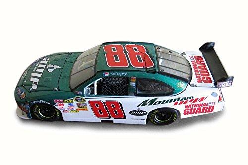 2009 Nascar Dale Earnhardt #88 AMP Energy/Mountain Dew Chevy Impala SS, White/Green - NASCAR C8671 - 1/24 Scale Diecast Model Toy Car -